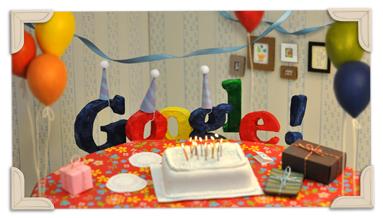 13º Aniversário da Google