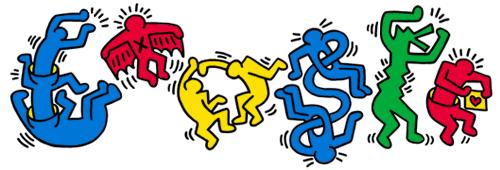 54º Aniversário de Keith Haring. Cortesia da Fundação Keith Haring.