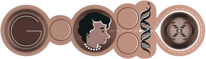 93º Aniversário de Rosalind Franklin