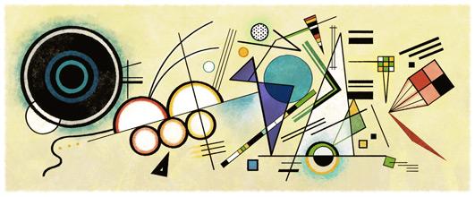 148º Aniversário de Wassily Kandinsky