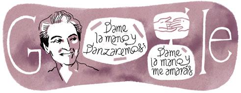 126º Aniversário de Gabriela Mistral