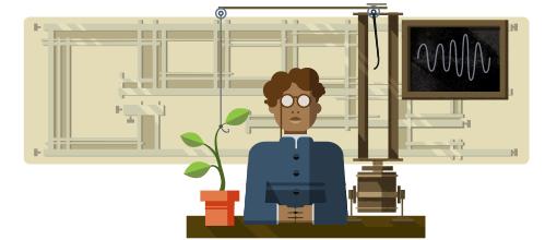 158º Aniversário de Jagadish Chandra Bose