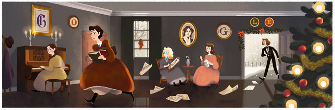 184º Aniversário de Louisa May Alcott
