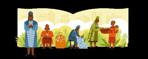 98º Aniversário de Esther Afua Ocloo