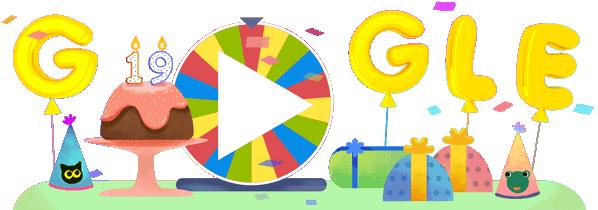 19º Aniversário da Google