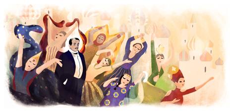 145º Aniversário de Sergei Diaghilev