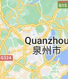 Map of Quanzhou China