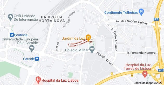 Mapa de Azinhaga Carmelitas, Lisboa