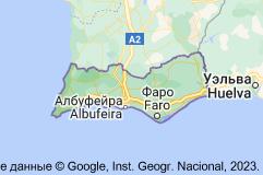 Алгарве: карта